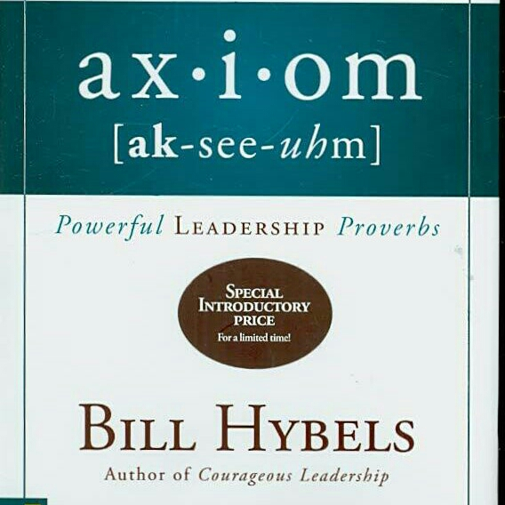 Axiom by Bill Hybels image